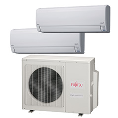 AOU18RLXFZ-Dual-Zone ac unit