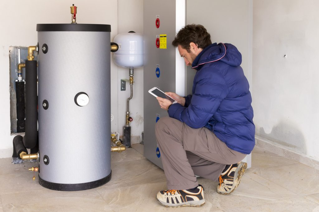 boiler repair and maintenance in home.