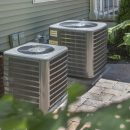 Air conditioner units in residential home.