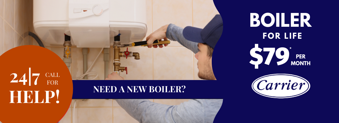 boiler sale repair carrier 24/7 emergency service